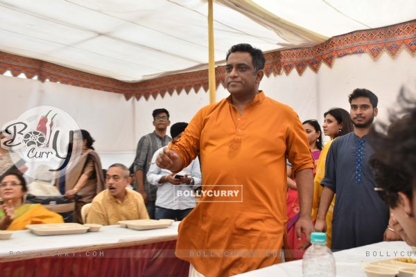 Bollywood celebrities at Anurag Basu's Saraswati Pooja