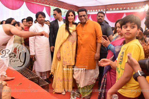 Katrina Kaif at Anurag Basu's Saraswati Pooja