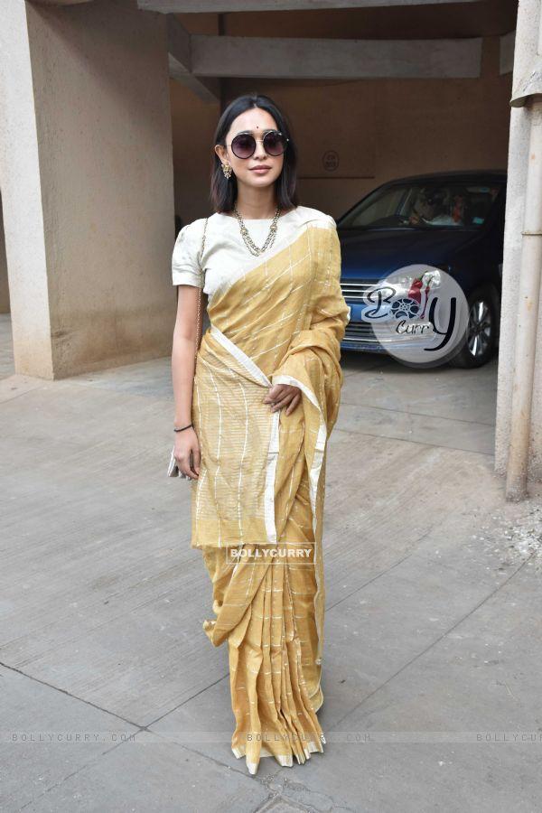 Sayani Gupta at Anurag Basu's Saraswati Pooja