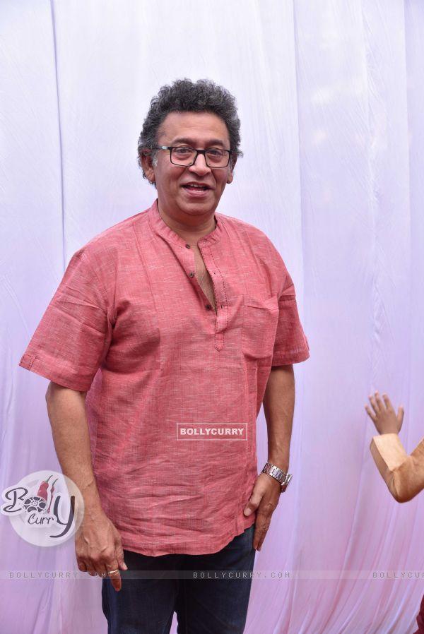 Uday Tikekar at Anurag Basu's Saraswati Pooja
