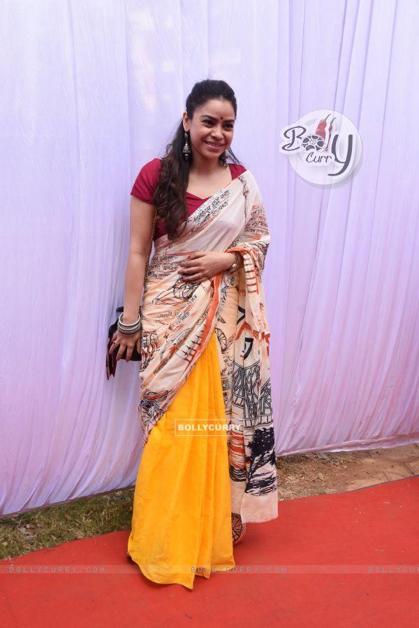 Sumona Chakravarti at Anurag Basu's Saraswati Pooja
