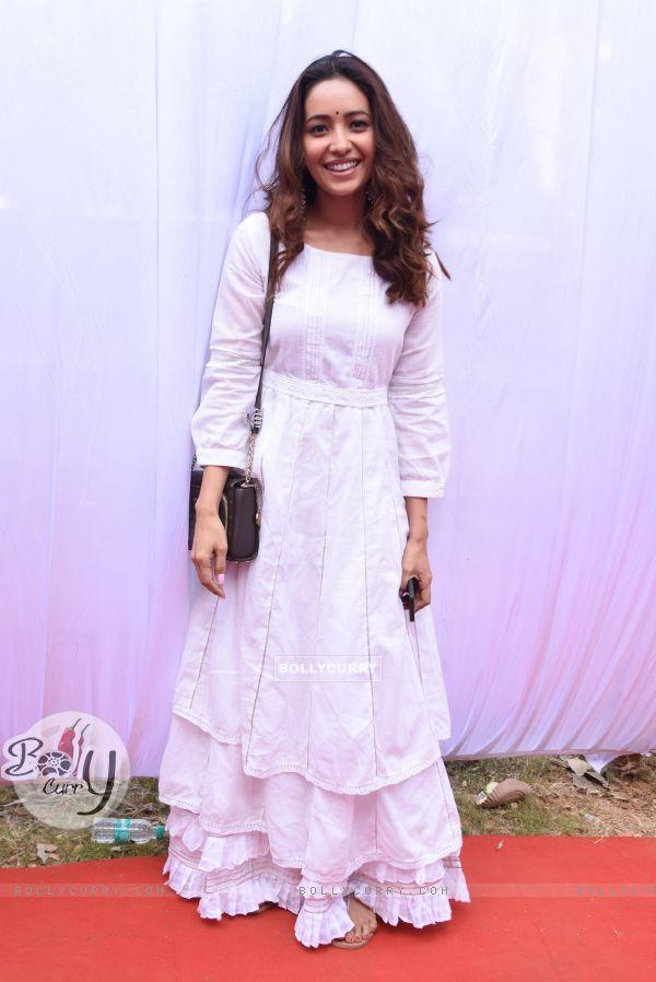 Asha Negi at Anurag Basu's Saraswati Pooja