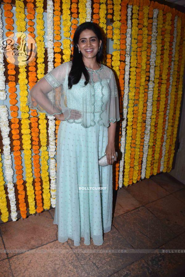 Sonali Kulkarni at Ekta Kapoor baby's naming ceremony