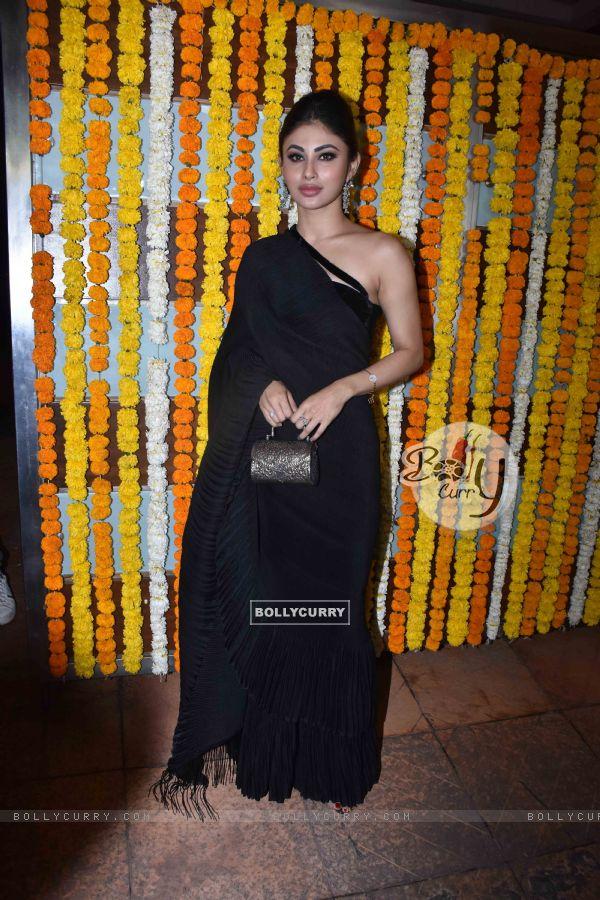 Mouni Roy at Ekta Kapoor baby's naming ceremony