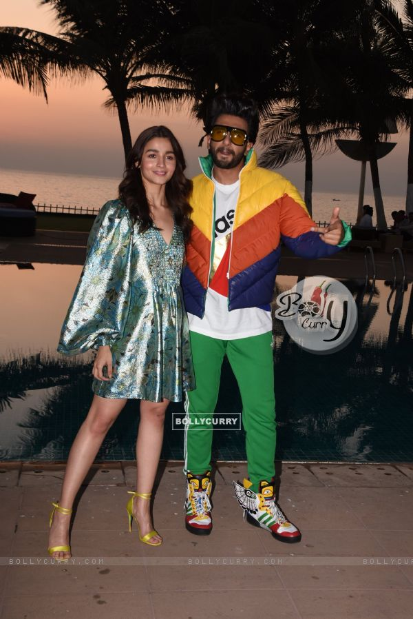 Ranveer-Alia promoting 'Gully Boy'