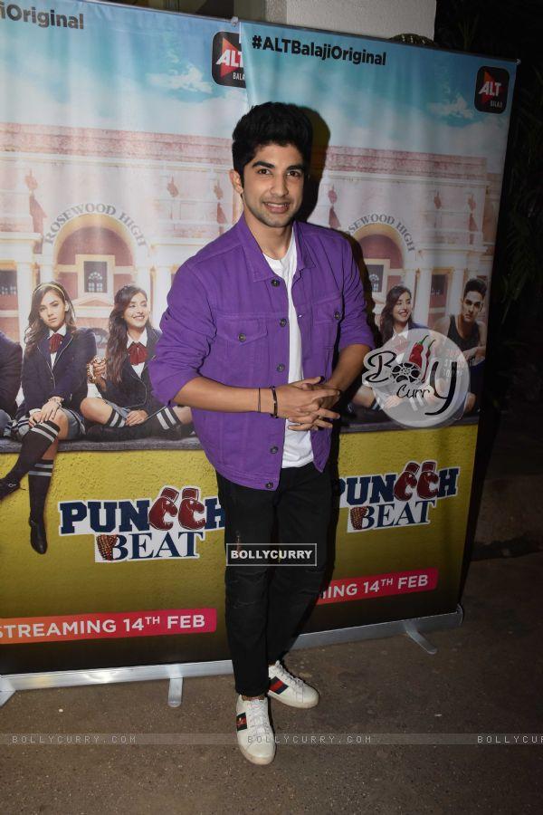 Cast of Puncch Beat at screening