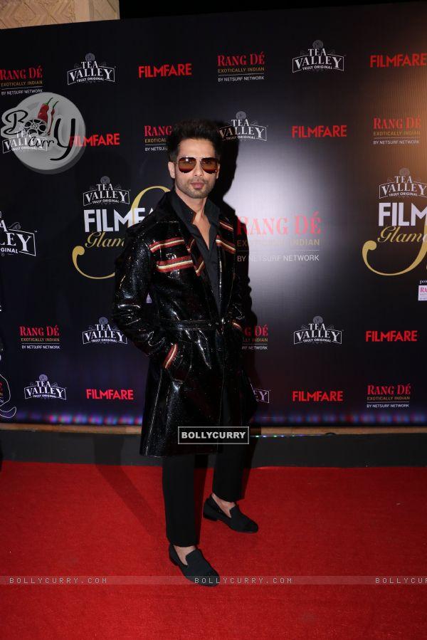 Shahid Kapoor attend Filmfare Awards