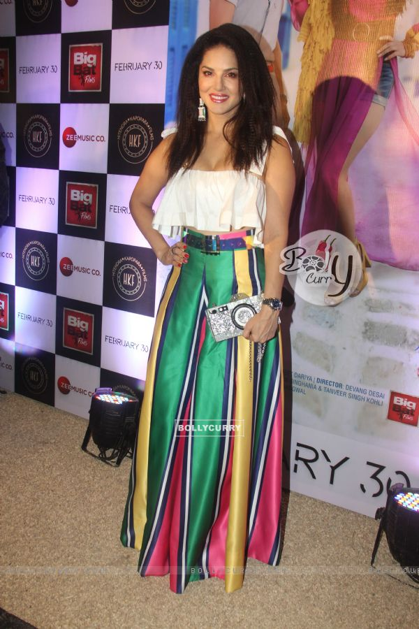 Sunny Leone snapped at a Music Launch