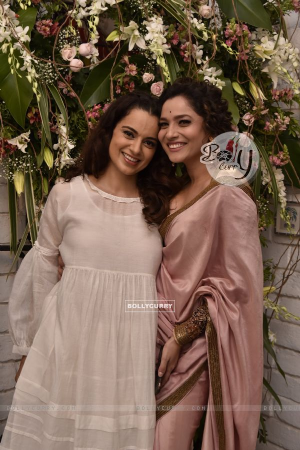 Kangana and Ankita at Manikarnika Success bash!