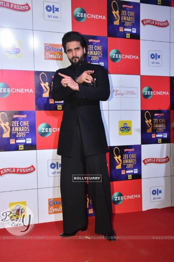 Jackky Bhagnani papped at Zee Cine Awards!