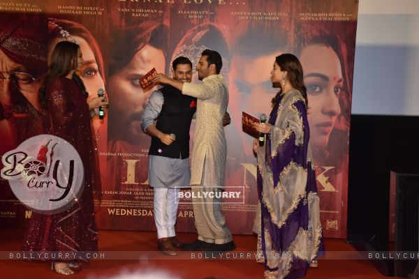 Celebrities snapped at 'Kalank' Trailer launch!