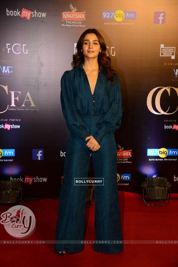 Alia Bhatt snapped at Critics Choice Film Awards!