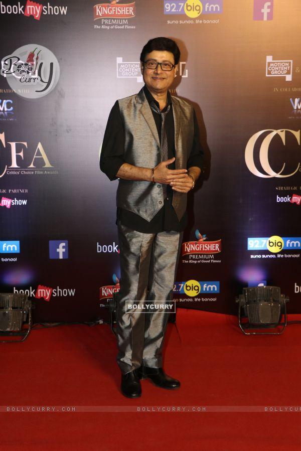Sachin Pilgaonkar snapped at Critics Choice Film Awards!
