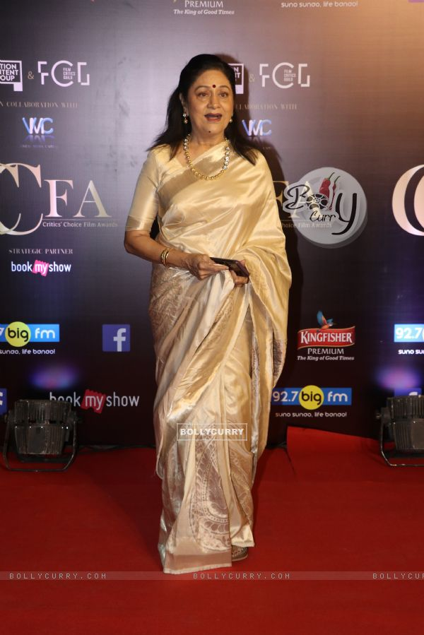 Aruna Irani at Critics Choice Film Awards!