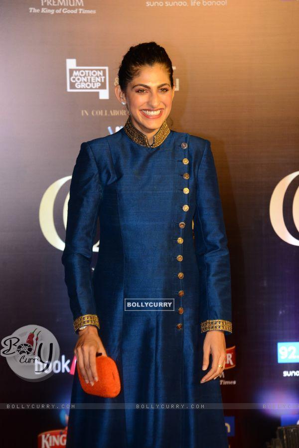 Bollywood actress Kubbra Sait snapped at Critics Choice Film Awards!
