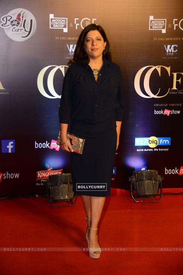 Bollywood celebrities Zoya Akhtar snapped at Critics Choice Film Awards!