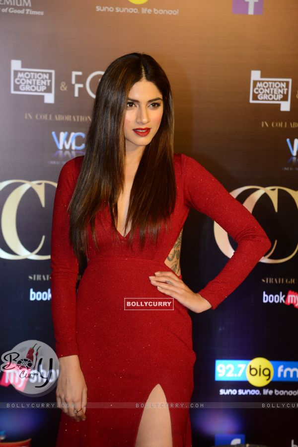 Sapna Pabbi snapped at Critics Choice Film Awards!