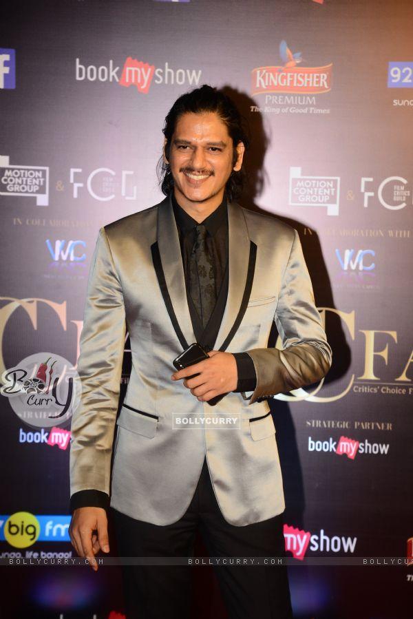 Vijay Verma snapped at Critics Choice Film Awards!