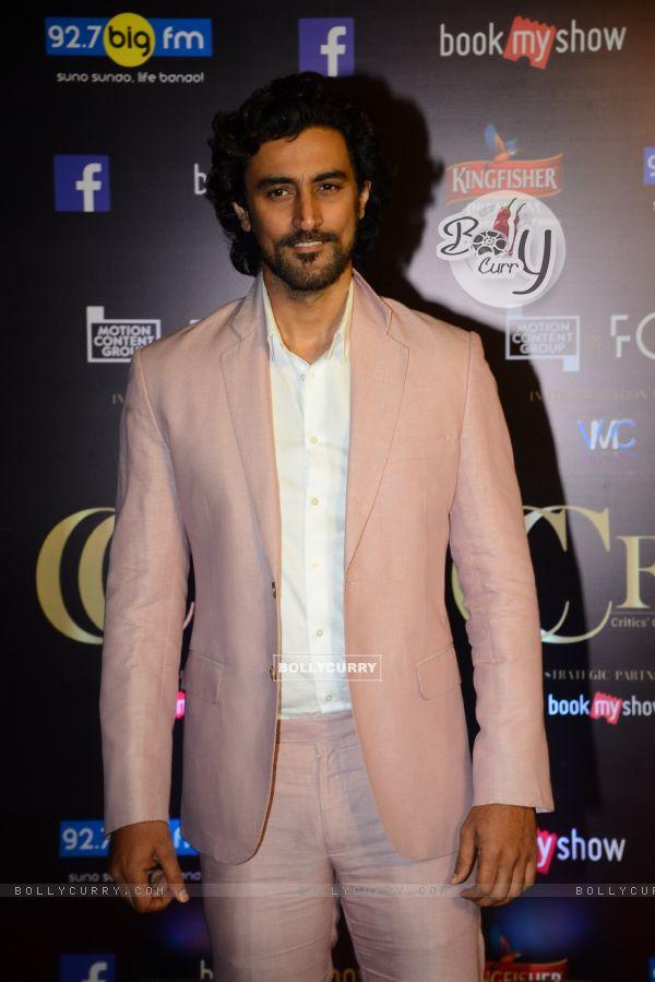 Kunal Kapoor at Critics Choice Film Awards!