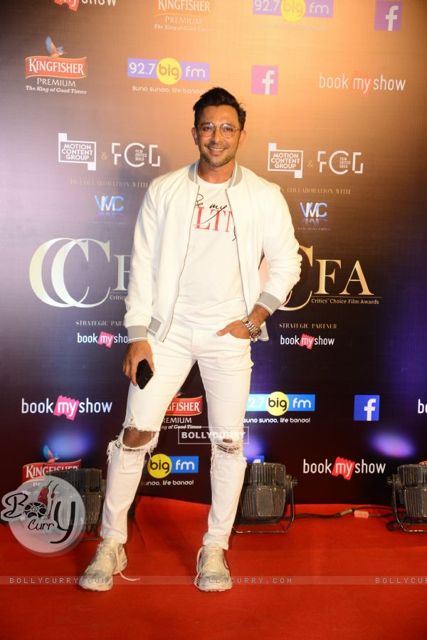 Terence Lewis snapped at Critics Choice Film Awards!