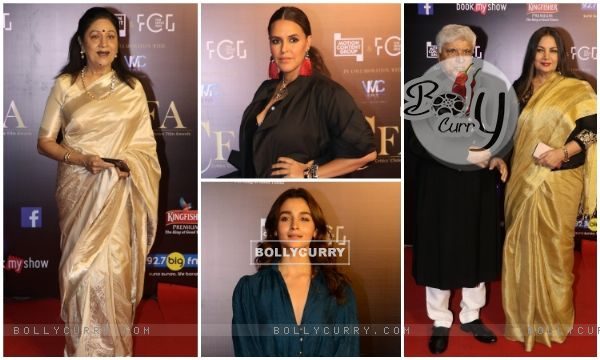 Bollywood celebrities snapped at Critics Choice Film Awards!
