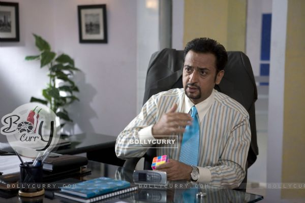 Gulshan Grover in the movie Mittal V/S Mittal