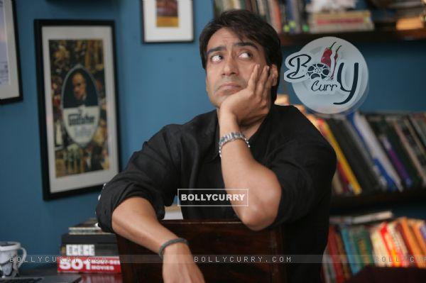 Ajay Devgan looking worried (56608)