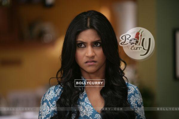 Konkona Sen Sharma looking shocked
