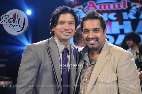Shaan and Shankar the two finalist