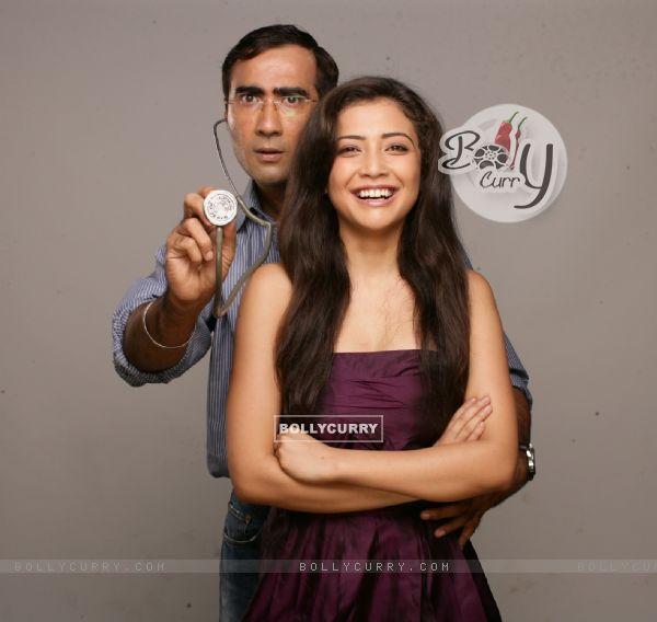 Ranvir and Geetanjali in the movie Tina Ki Chhabi