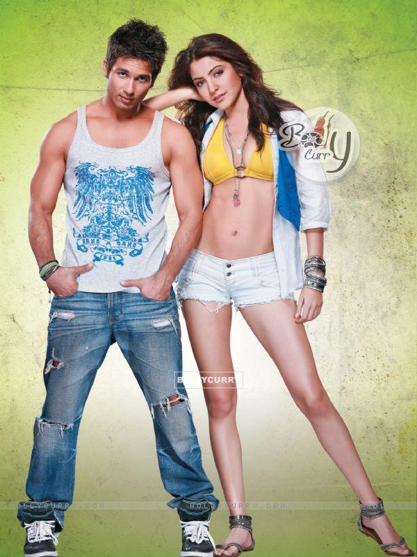 Shahid and Anushka in the movie Badmaash Company