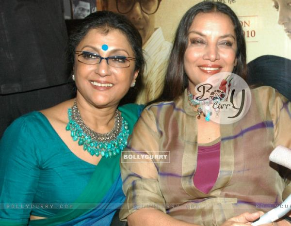 Aparna Sen with Shabana Azmi