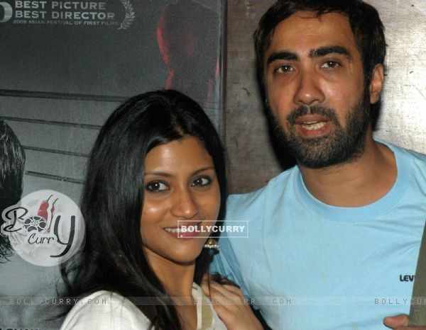 Ranvir Shorey with Konkona Sen Sharma