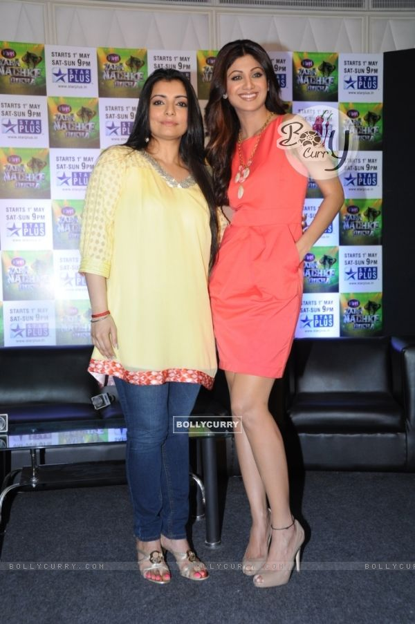 Vaibhavi with Shilpa Shetty
