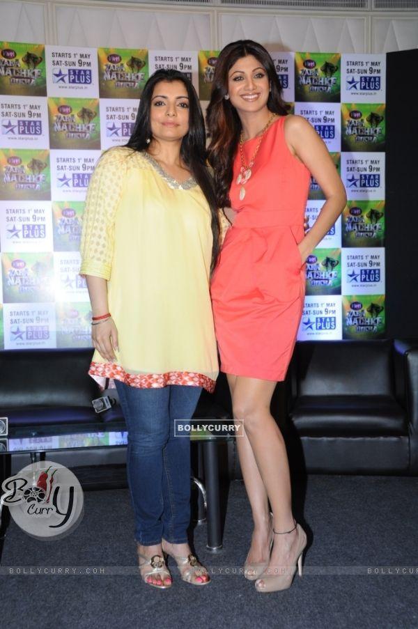 Vaibhavi with Shilpa Shetty
