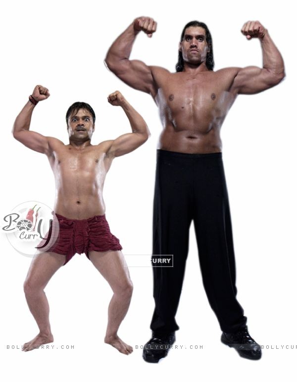 Still image of Khali and Rajpal Yadav (61633)