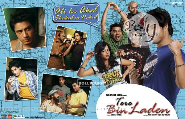 bin laden poster. Poster of Tere Bin Laden movie