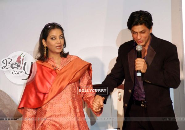 Actors Shah Rukh Khan and Shabana Azmi unveils new comfortable seats in the Jet Airways