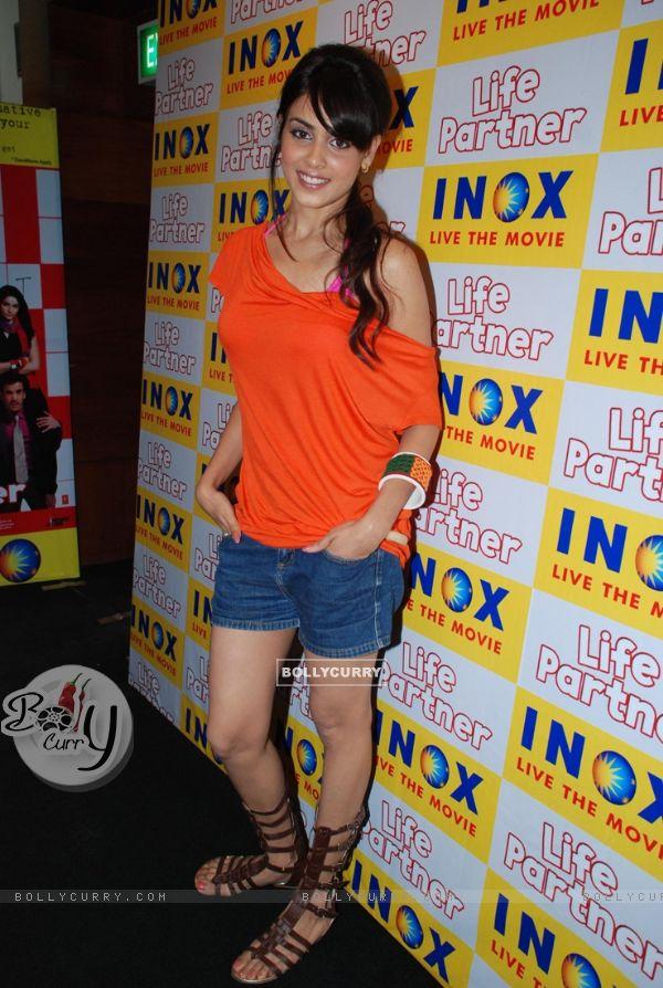 Genelia D''Souza promote their upcoming movie ''Life ... Genelia D Souza In Life Partner