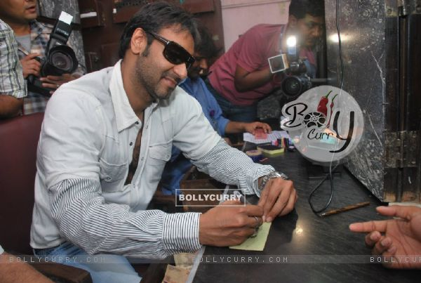 "Ajay Devgan opens ""London Dreams"" Advance Booking Gaiety, Bandra, Mumbai (81555)"