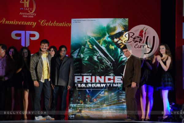 Vivek Oberoi promotes film Prince at Indo American Chamber of Commerce Corporate Awards at American Consulate lawns (81913)