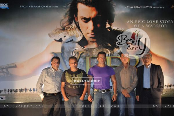 "Salman Khan at ""Veer"" film first look"