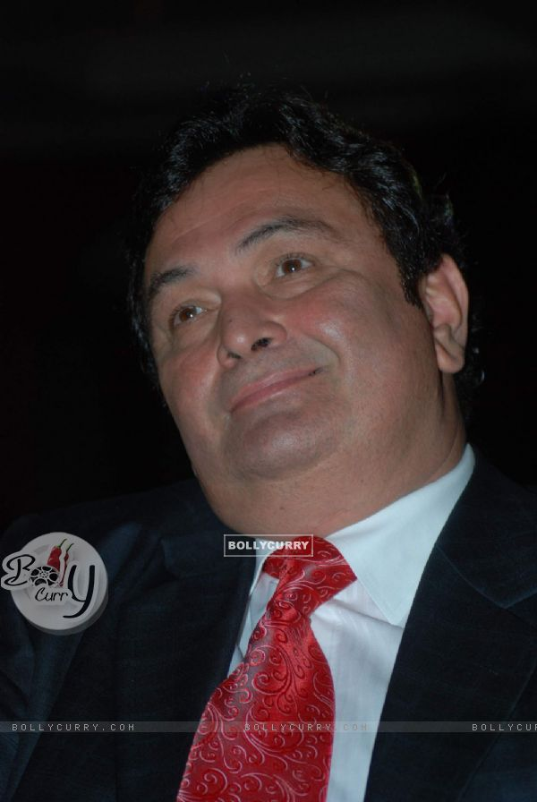 Rishi Kapoor at the launch Arindam Chaudhuri