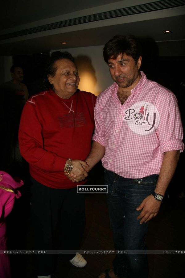 Bollywood actor Sunny Deol at Kapil Sharma''s screening of Veer (84207)