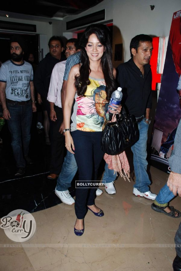 "Actress Vidya Malvade at the screening of ""Veer"" at PVR in Mumbai (84222)"