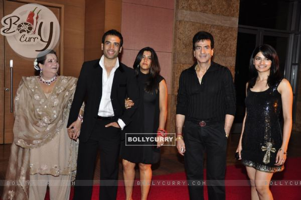 Jitendra''s family at Ambani''s Big pictures bash at Grand Hyatt