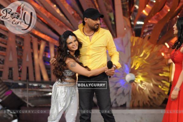 Rakhi with bhajji