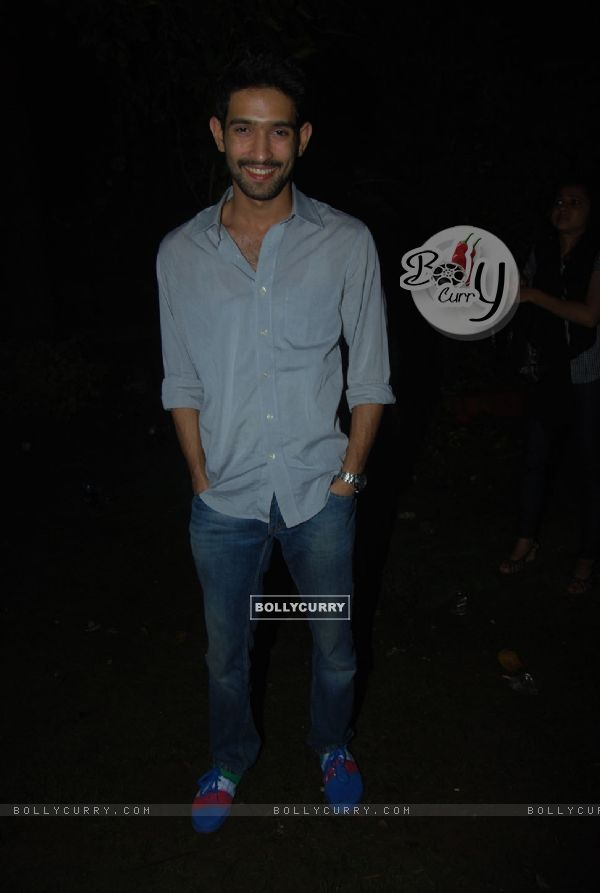 Vikrant Massey at Sara Khan birthday bash