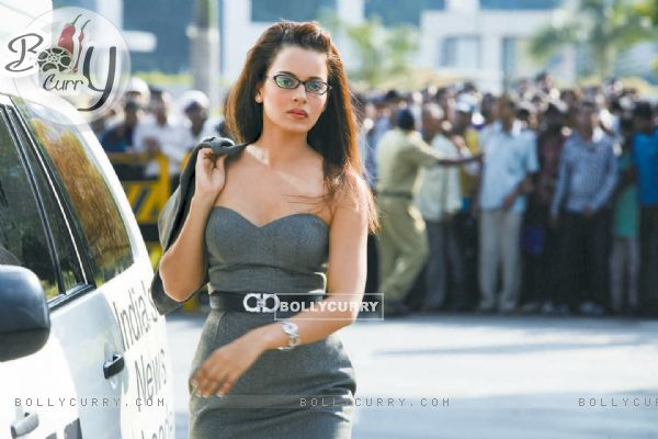 Kangana Ranaut in the movie Knockout