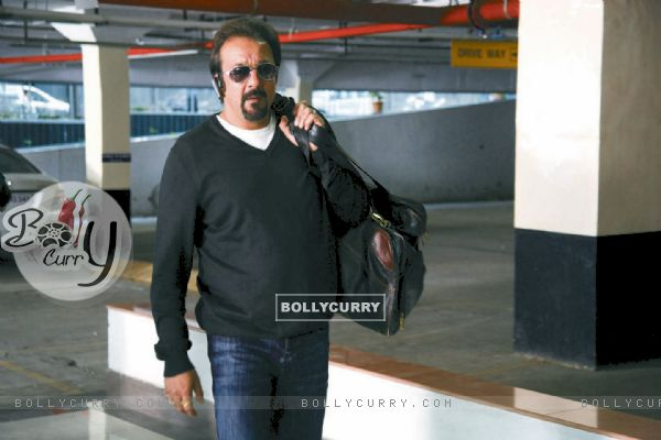 Sanjay Dutt in the movie Knockout